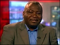 BBC Interviewed Guy Goma