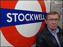 Peter Taylor at Stockwell tube station