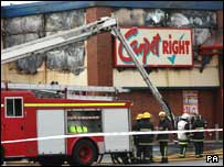 Firefighters have tackled four fires in Newry