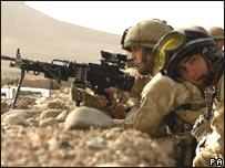 جنود بريطانيون في هلمند
