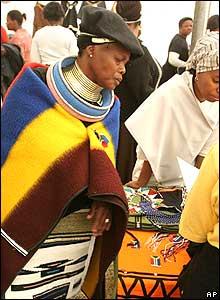 Woman participant at Pretoria march 09 Aug