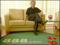 John Anderson of 888.com