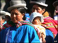 Indígenas bolivianas