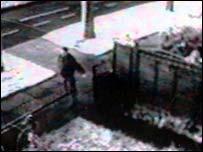 CCTV footage of Lee Phipps