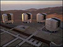 Very Large Telescope - image by Eso