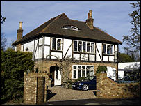 A suburban house