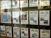 Browsing at an estate agent