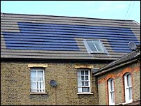 Southwark solar panels