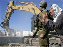 Caterpillar's bulldozers are used to destroy Palestinian homes