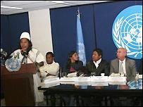 Rueda de prensa de la ONU con organizaciones y comunidades ind�genas