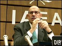 Mohamed El-Baradei, director del OIEA