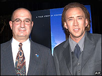 John McLoughlin and Nicolas Cage