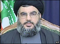 Sheikh Hassan Nasrallah on al-Manar TV, 9 Aug 2006