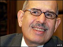 IAEA head Mohamed ElBaradei