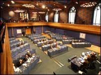 MSPs met in the former church on the Royal Mile (pics from Scottish Parliament)