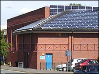Solar panels, Chesterfield