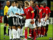 World Cup tie 2002