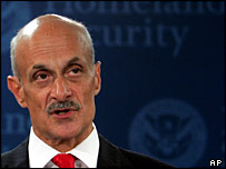 Homeland Security Secretary Michael Chertoff in a press conference on 10 August 2006