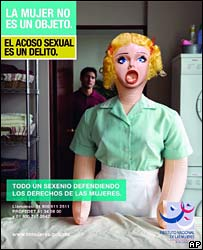 Mexican campaign against sexual harassment in the workplace