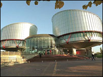 Exterior, European Court of Human Rights, Strasbourg