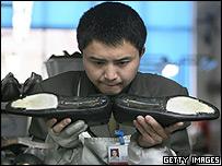 Chinese shoe store