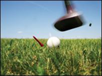 Taro p�l golff (llun cyffredinol)