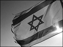 An image of Israel's flag