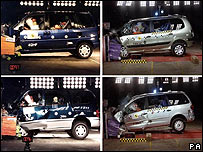 pictures of crash tests