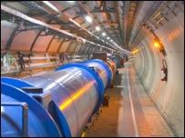 Gran Colisionador de Hadrones LCH (foto gentileza de CERN)