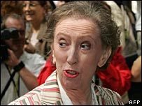 Foreign Secretary Margaret Beckett