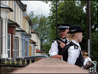 Police in Walthamstow