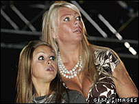 Nikki Grahame and Lea Walker