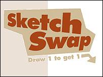 Sketch Swap website