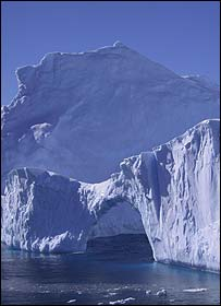 Iceberg in the Davis Sea, East Antarctica, Science