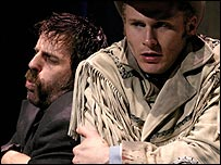 Con O'Neill and Charles Aitken in Midnight Cowboy (play)