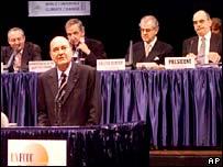 Delegates at climate change meeting.  Image: AP