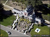 Neverland Ranch (archive image from 2004)
