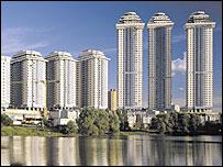 Жилой комплекс в Москве. Фото с сайта Донстрой
