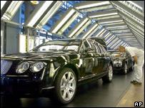 German car plant