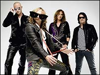 The Darkness owe much success to the US event