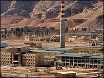 Iran's nuclear plant at Natanz