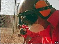 A scene from Guantanamo