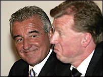 Terry Venables (left) and Steve McClaren