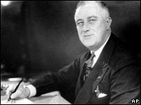 Former US President Roosevelt