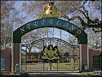 The gates of Neverland
