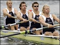 Great Britain's men's coxless four