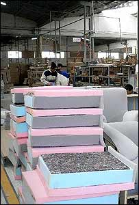 Furniture factory in Kayseri