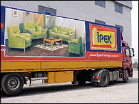 Furniture truck in Kayseri