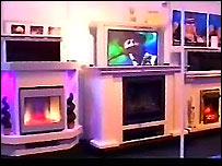 Plasma fireplace