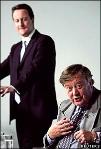 David Cameron and Ken Clarke